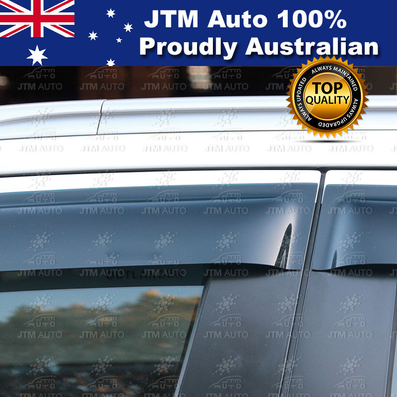 Premium Weather Shields Window Visors to suit Mitsubishi Outlander 2013-2019