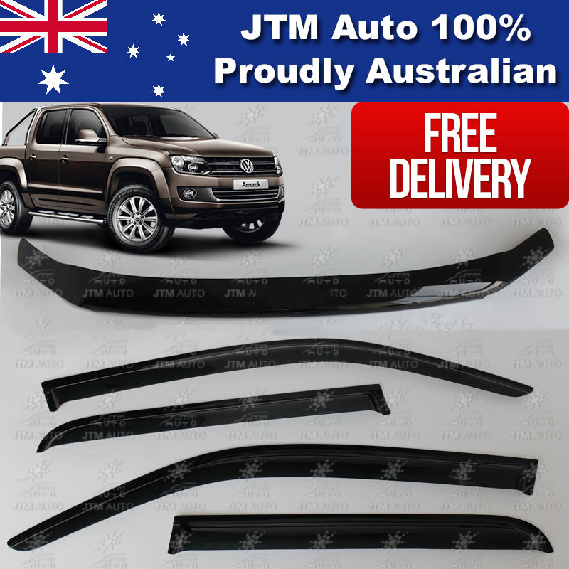 Bonnet Protector Guard and Weather Shields tosuit VOLKSWAGEN VW Amarok 2010-2019