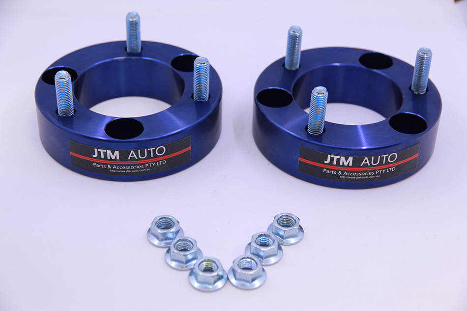 32mm Aluminium Shock Spacer Adapter Lift Up Kit to suit Nissan Navara D40 05-14