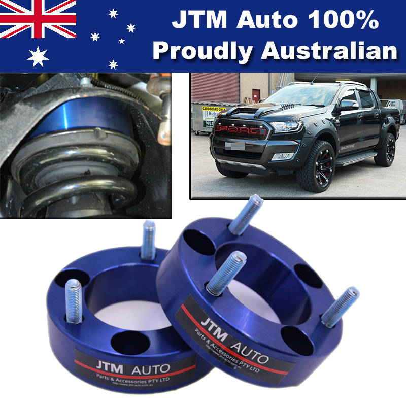 32mm Aluminium Shock Spacer Adapter Lift Up Kit to suit Ford Ranger PX 2012-2018
