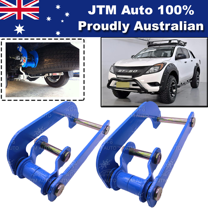 Rear Leaf Alloy Spring G Shackle Shackles to suit Mazda BT-50 BT50 2012-2019