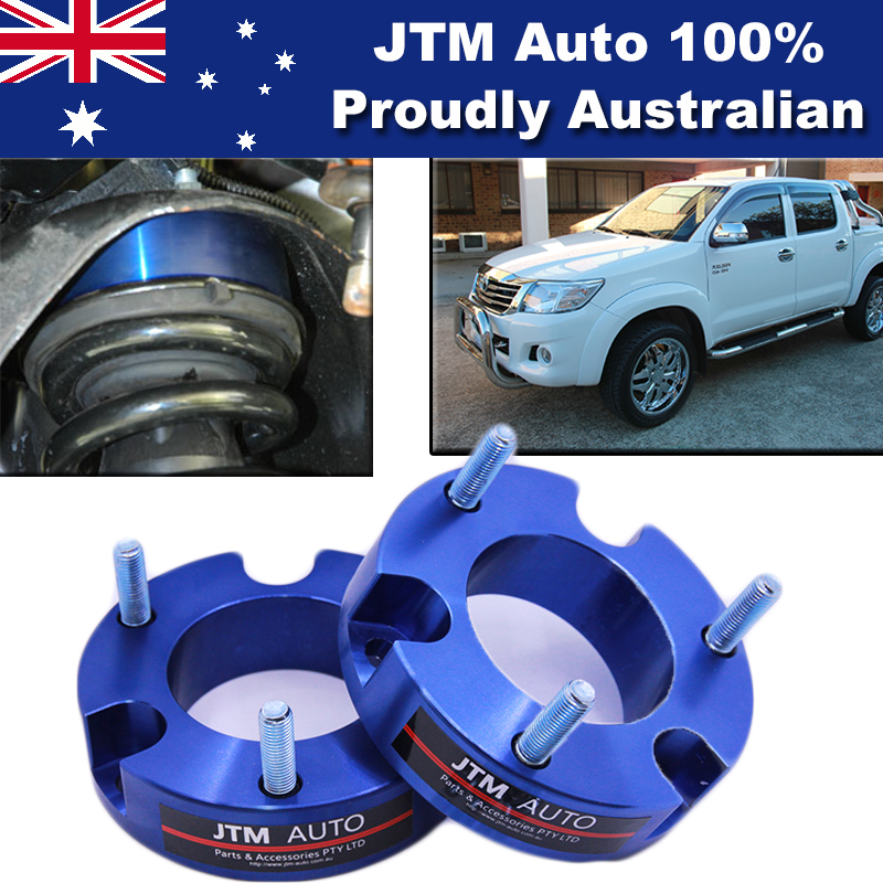 32mm Aluminium Shock Spacer Adapter Lift Up Kit to suit Toyota Hilux 2005-2014