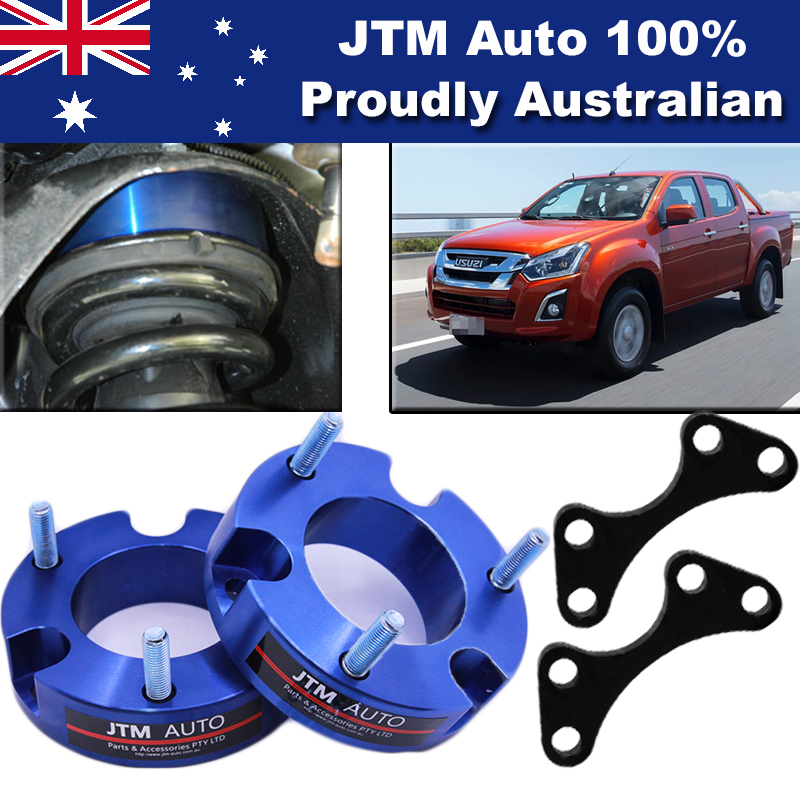 32mm Aluminium Shock Spacer Adapter Lift Up Kit for Isuzu D-max Dmax 2012-2019