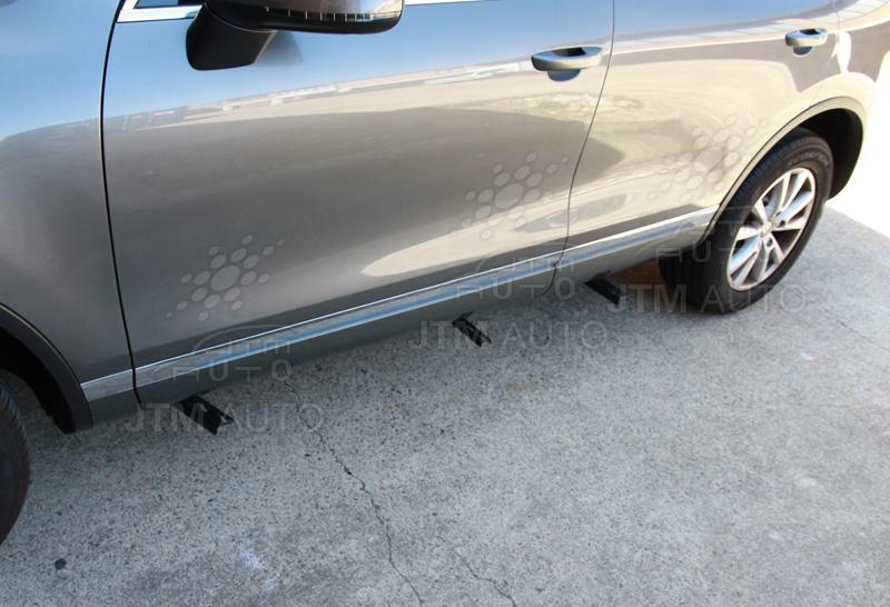 Running Boards Side Steps Aluminium Porsche Cayenne 2011-2017