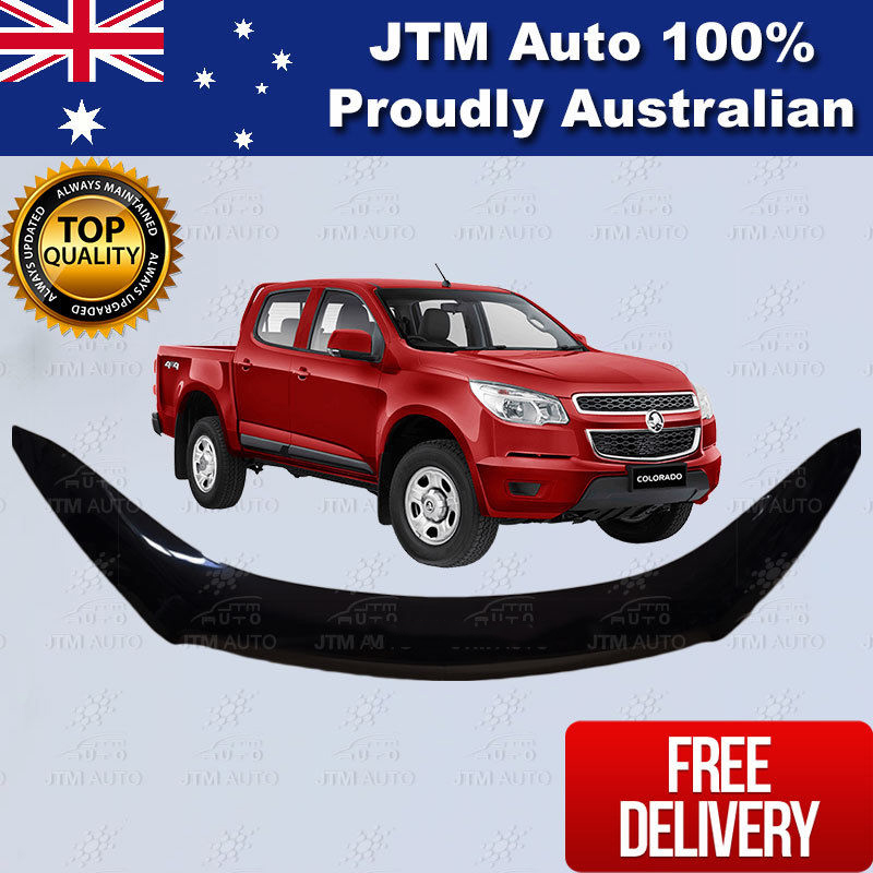 Bonnet Protector Tinted Guard to suit Holden Colorado 2012-2016