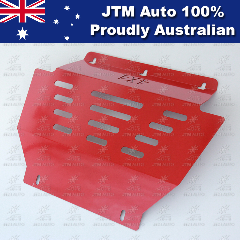 Bash Plate Front Sump Guard Red Protection For Isuzu D-max Dmax 2012-2018