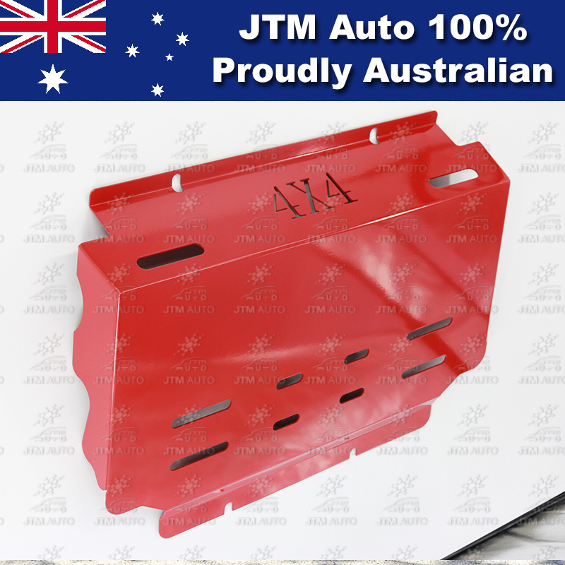 Bash Plate Front Sump Guard Red Protection For Mazda BT-50 BT50 2012-2018