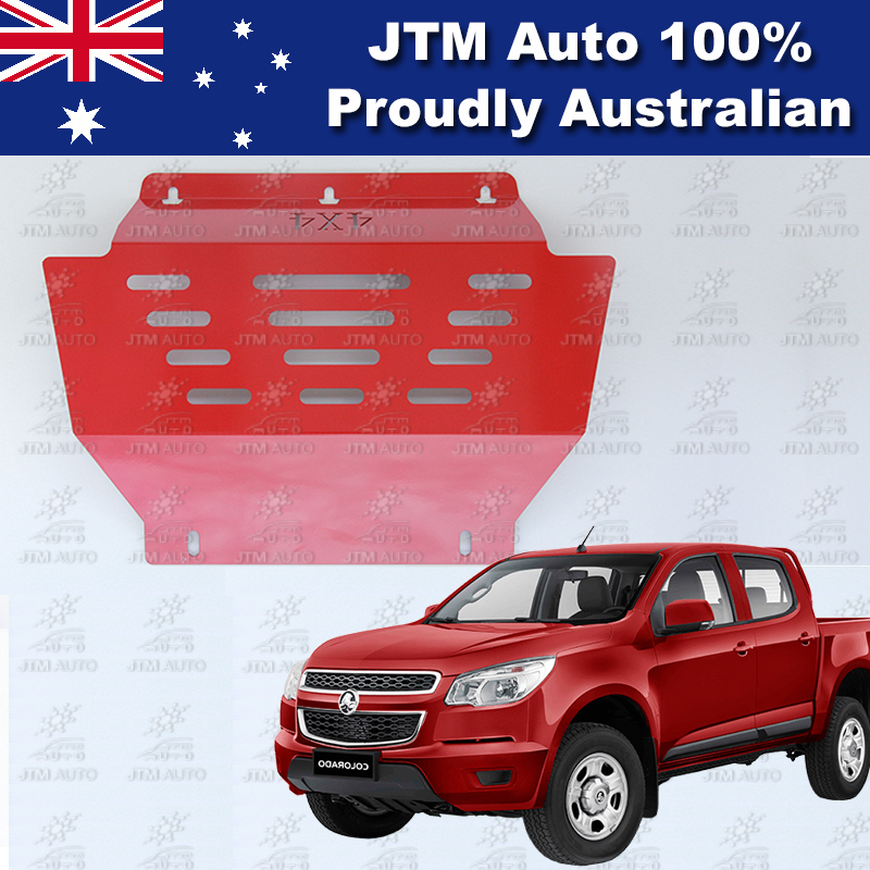 Bash Plate Front Sump Guard Red Protection For Holden Colorado 2012-2016