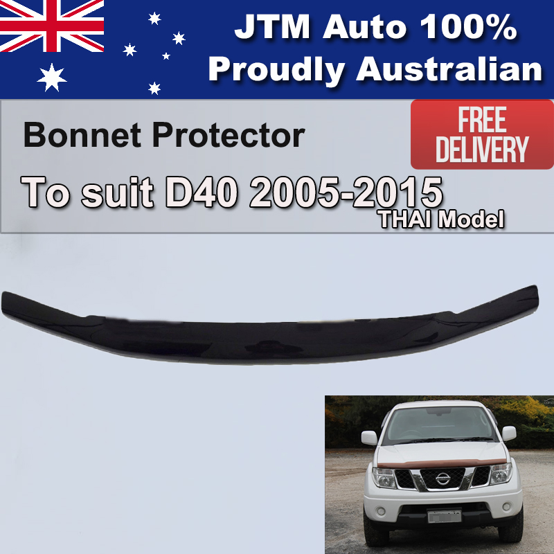 Bonnet Protector to suit Nissan Navara D40 2005-2015 Thai Model