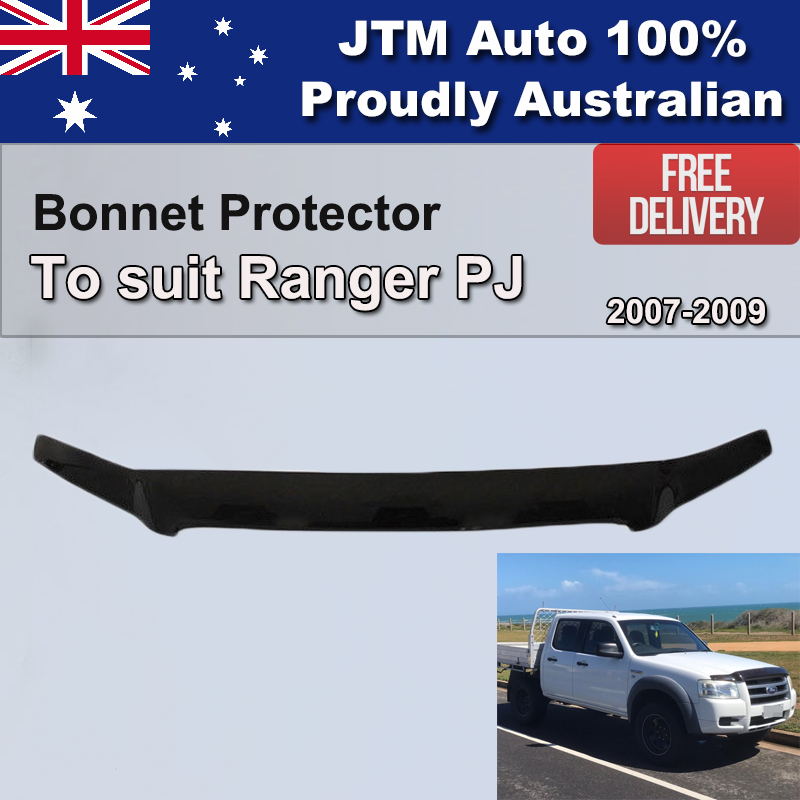 Bonnet Protector Guard to suit Ford Ranger PJ 2007-2009