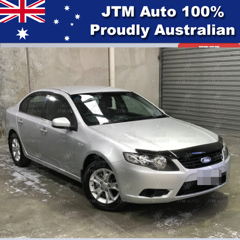 Bonnet Protector + Window Visors Weather shield to suit Ford Falcon FG 2008-2014