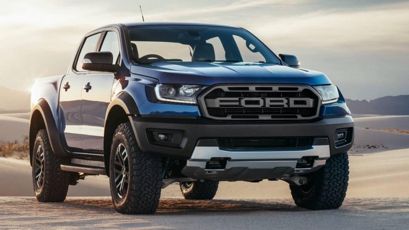 Matt Black Bonnet Scoop Hood Raptor Style to suit Ford Ranger PX3 T8 2018-2019