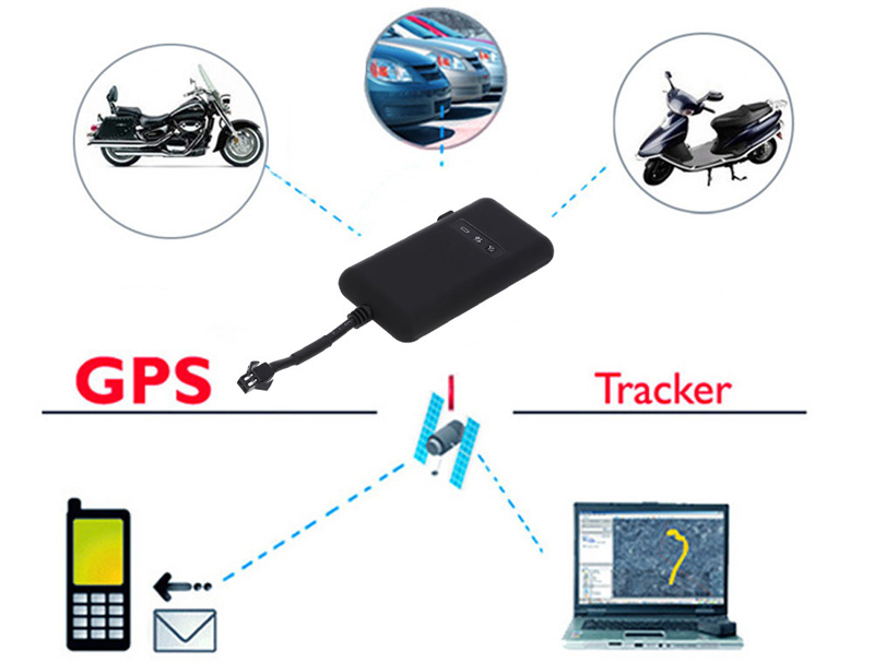 Details about Real Time Tracking Car GPS Tracker 4 Band GSM GPRS Google  Link Anti-thief GT02A