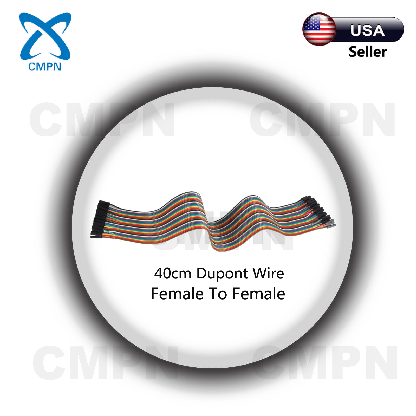 240Pcs Dupont 40cm Cable Jumper Wire Female-Male For Breadboard Arduino USA
