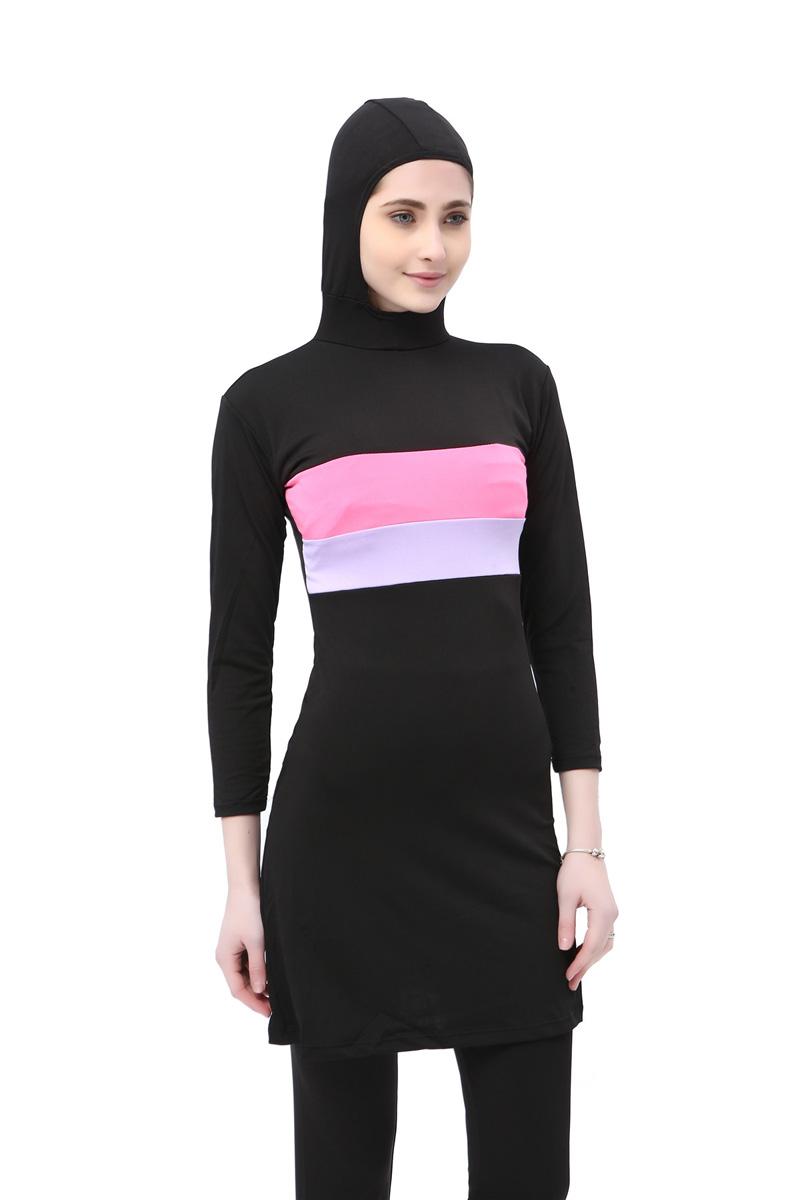 Muslim Swimwear Islamic Full Cover Swimsuit Women Modest ...