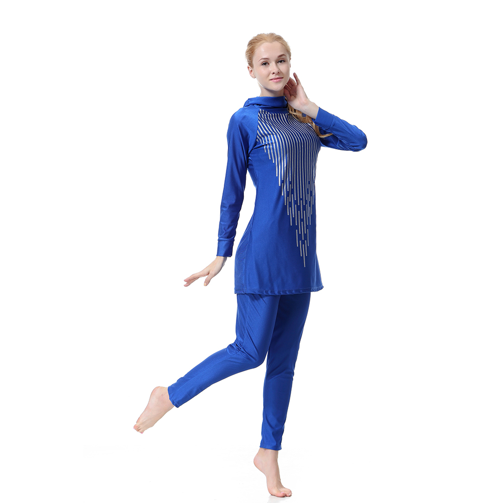 5572dafdb0 Muslim Women Full Cover Bikini Islamic Swimwear Swimsuit Bathing Suit  Modest New