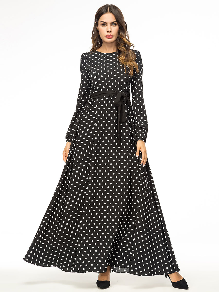 Details about New Women Casual Abaya Muslim Long Maxi Dress Vintage Dubai Kaftan Islamic Robe