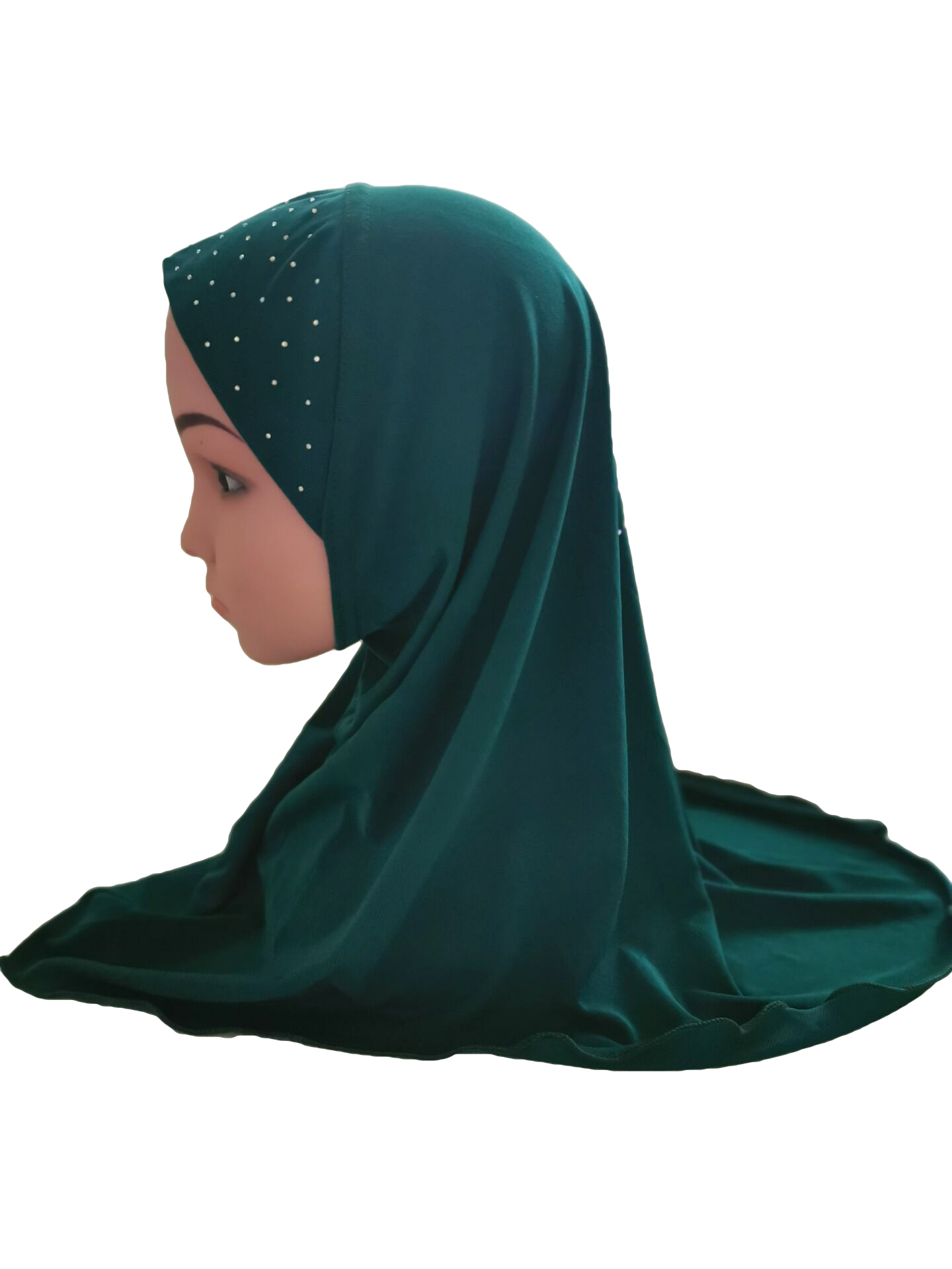 Girls-Kids-Muslim-Hijab-Hats-Islamic-Arab-Scarf-Caps-Shawls-Amira-Headwear-3-8Y thumbnail 95
