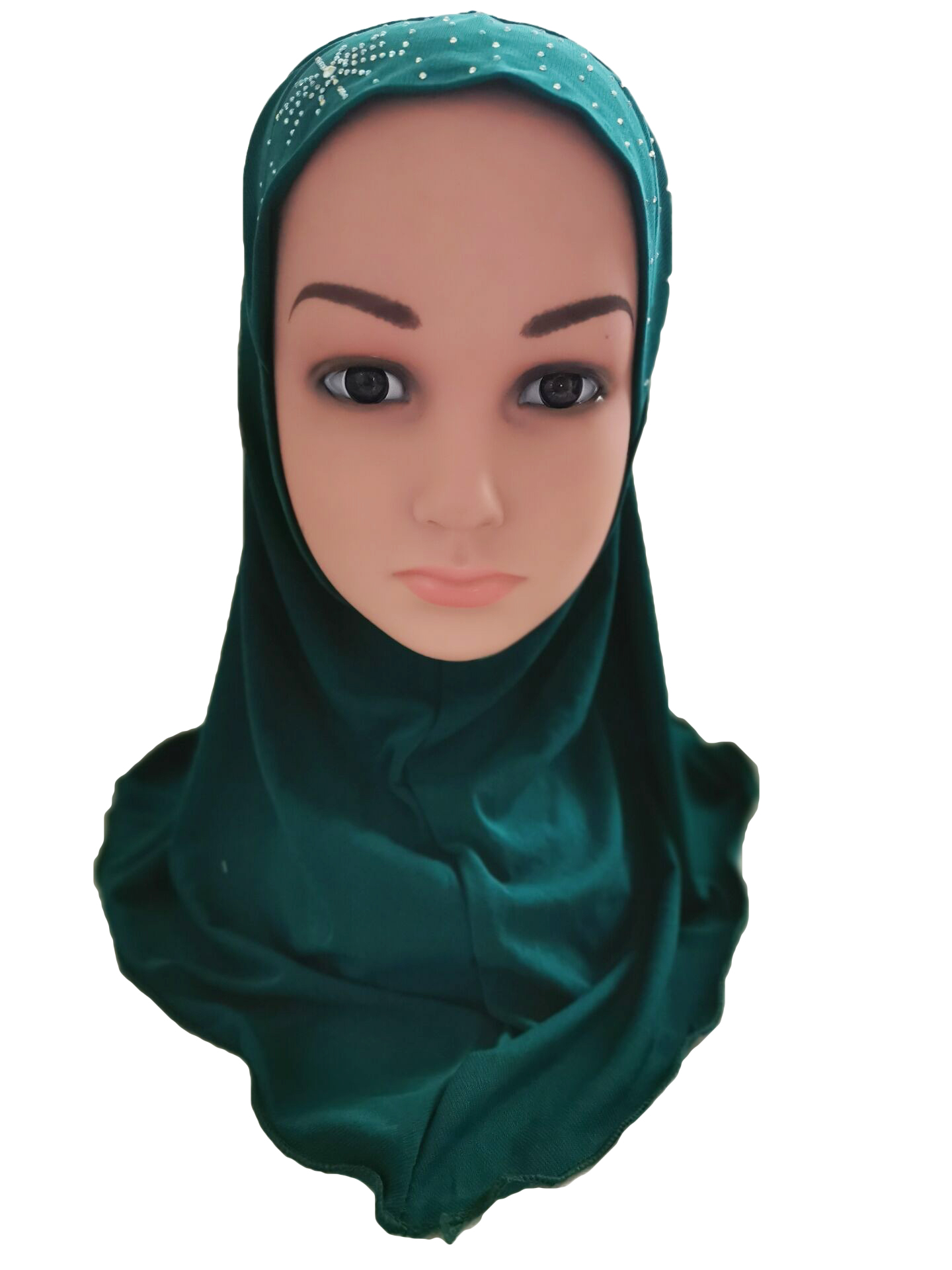 Girls-Kids-Muslim-Hijab-Hats-Islamic-Arab-Scarf-Caps-Shawls-Amira-Headwear-3-8Y thumbnail 96