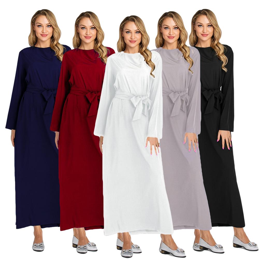 Ramadan Abaya Women Jilbab Muslim Arab Kaftan Long Maxi Dress Dubai Islamic Robe