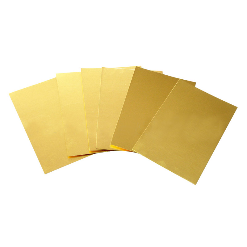 New Brass Metal Thin Sheet Foil Plate Shim Thick 0.5mm//0.8mm//1mm//2mm 100X100mm