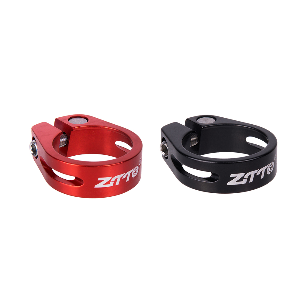 ZTTO MTB Road Bike Bicycle Seatpost Seat Post Clamp Tube Clip Al Alloy 31.8//34.9