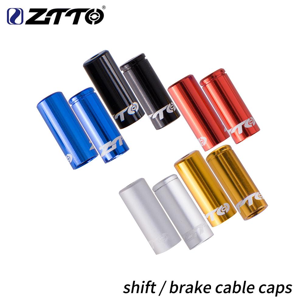 50x Bike Bicycle Brake Shifter Derailleur Inner Cable Wire End Cap Crimps Mix Ju
