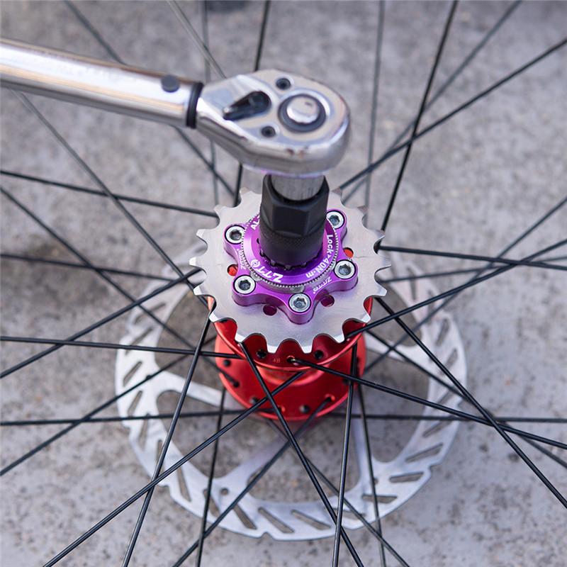 Bicycle Single Speed Flywheel Sprocket Cassette Cog Fixed Gear 16-23T Freewheel