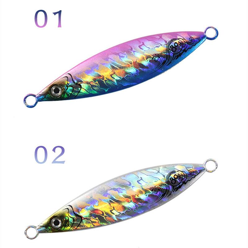 5pack Micro Metal Jigs Fishing Lure Jig Inchiku Snapper Jigging Tuna King Lures