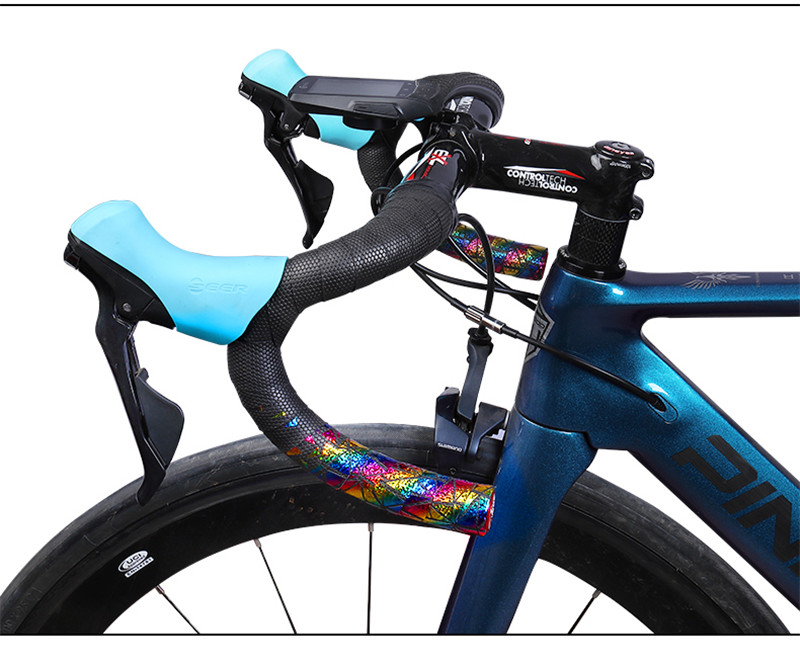 A Pair Road Bike Bicycle Handlebar Tape Cycling Handle Belt Strap Accessory New
