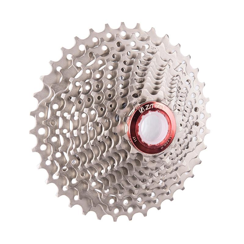 ZTTO 11 Speed 11-36T Cassette Silver Sprocket Freewheel 436g for Road Bike MTB
