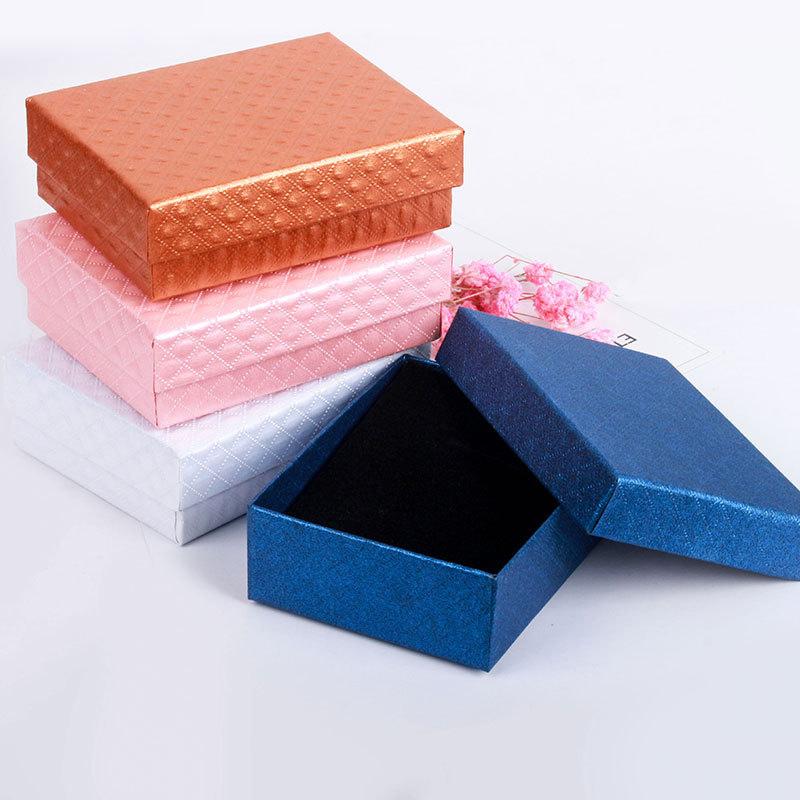 bo te bijoux pour bague boucles d 39 oreilles collier pendentif rangement cadeau ebay. Black Bedroom Furniture Sets. Home Design Ideas