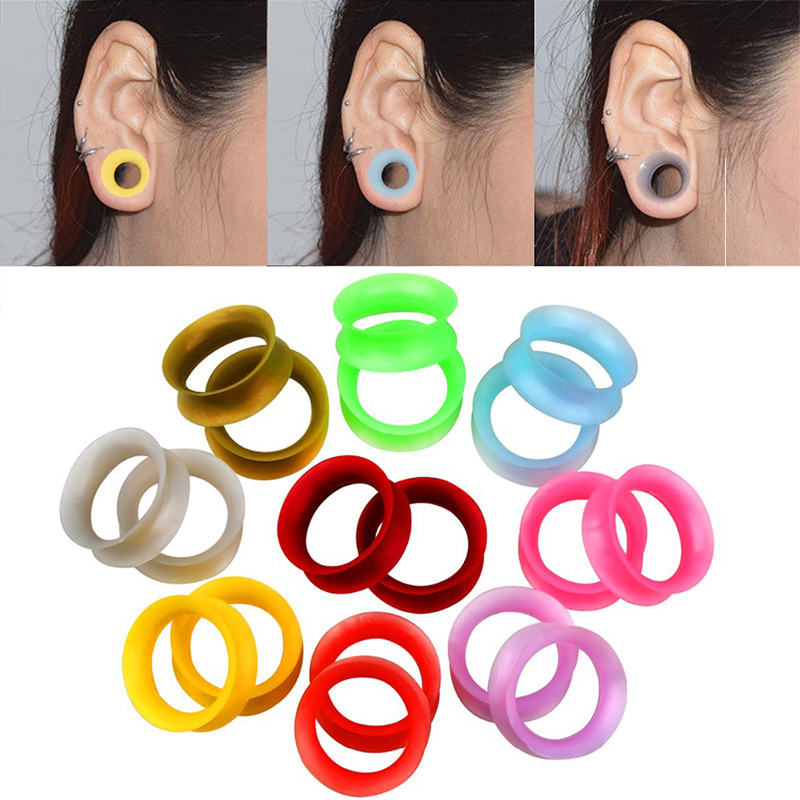 Yellow /& Black Bumble Bee Pinstripe Tapers Acrylic Ear Plugs Expanders Gauges Pair 2 6G 4MM