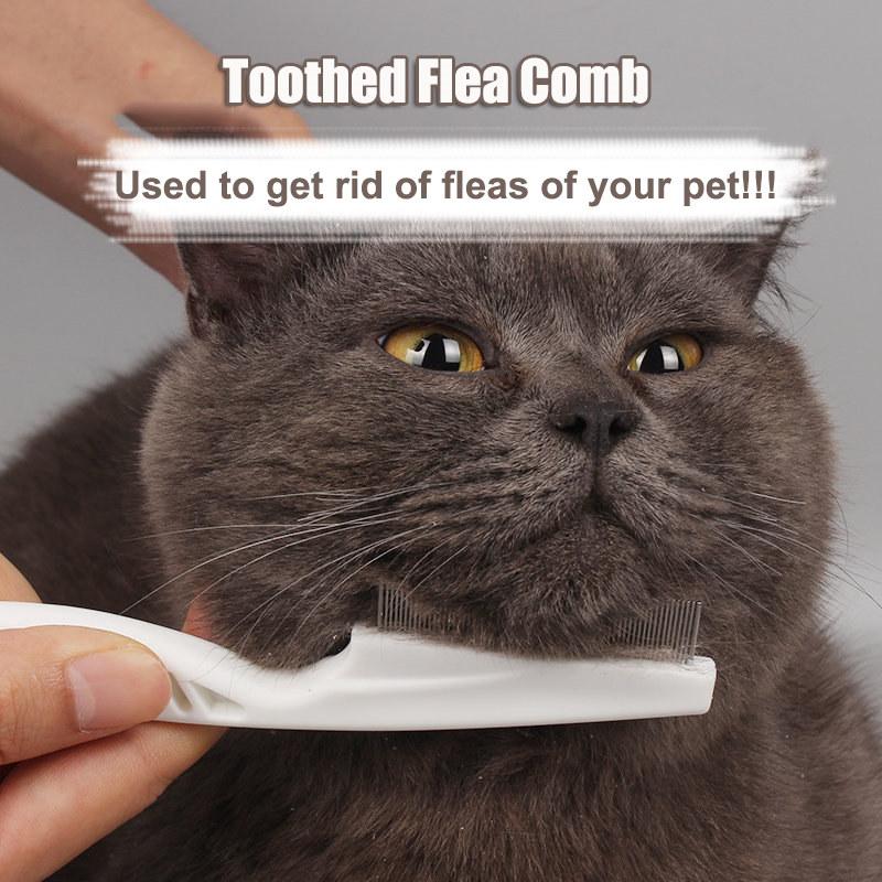 peigne acier inox plastique brosse chien chat animaux cheveux anti poux lentes ebay. Black Bedroom Furniture Sets. Home Design Ideas