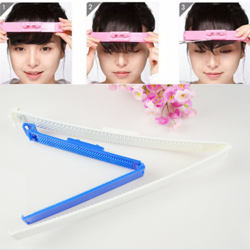 Home Appliance Parts Sincere Women Girl Fashion Clipper Fringe Hair Cutting Guide Layer Bang Level Ruler Tool Home Appliances