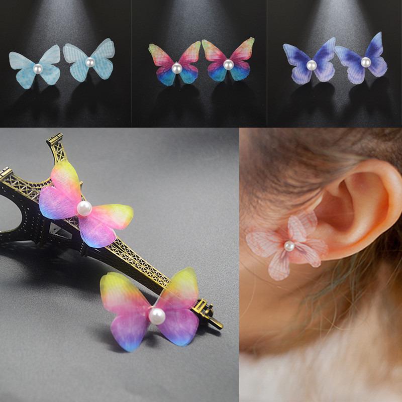 1Pair Acrylic Pendant Drop Earrings Kawaii Ear Stud Women Jewellery Gift SMART