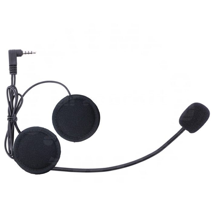 Boom Hard Cable Headset Speakers Microphone for V6 V4 Motorcycle BT Interphone
