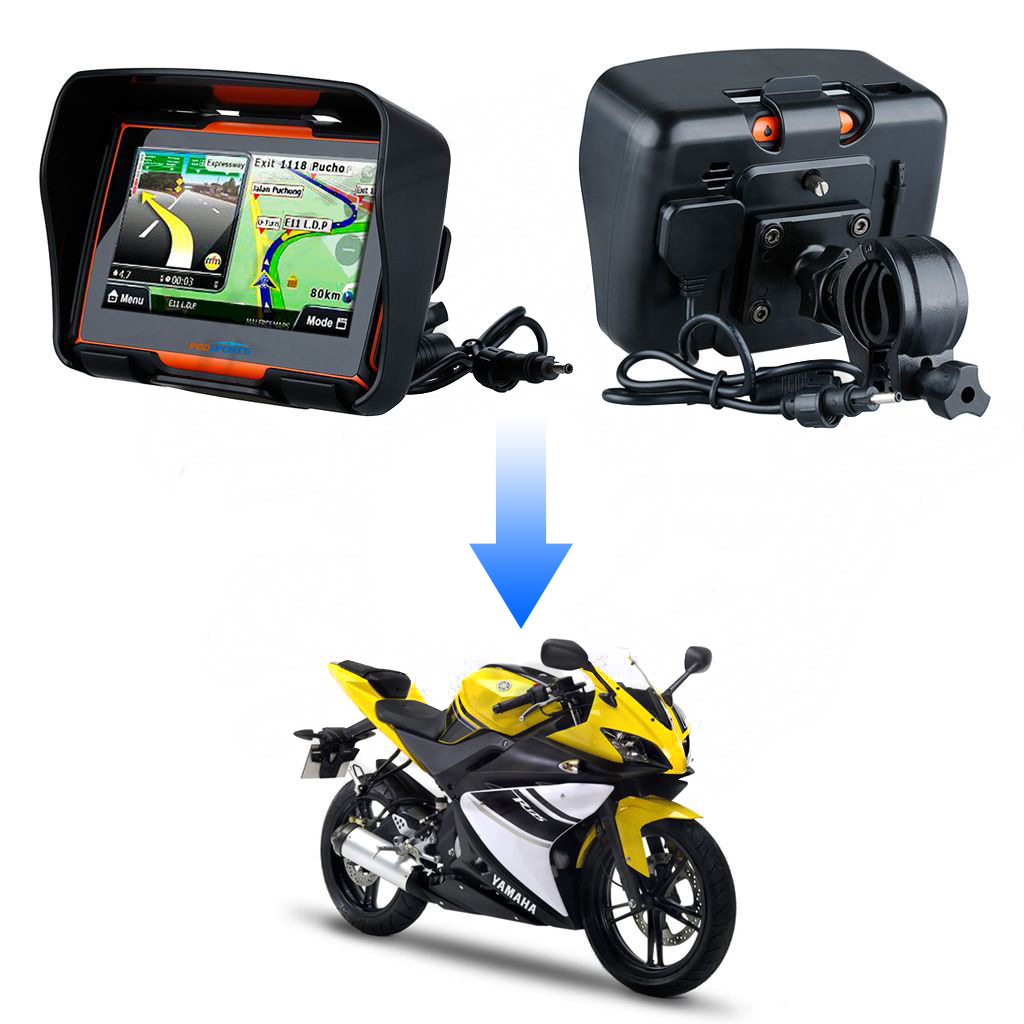 4 3 bluetooth motorrad gps sat nav navigationsger t 8g. Black Bedroom Furniture Sets. Home Design Ideas