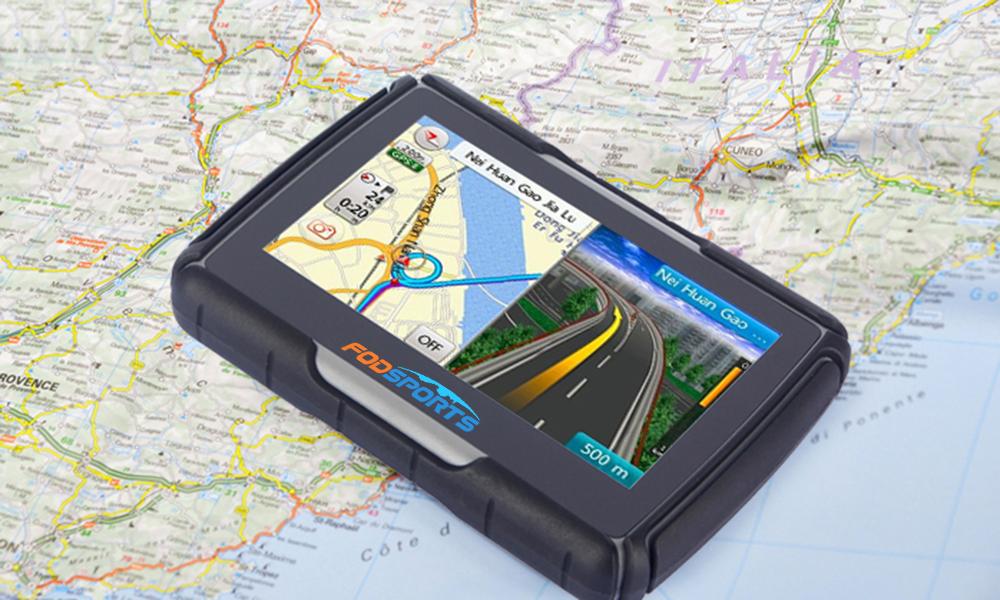 4.3″ Motorcycle GPS Navigator Waterproof Navigation SAT NAV 8GB Win CE Free Maps