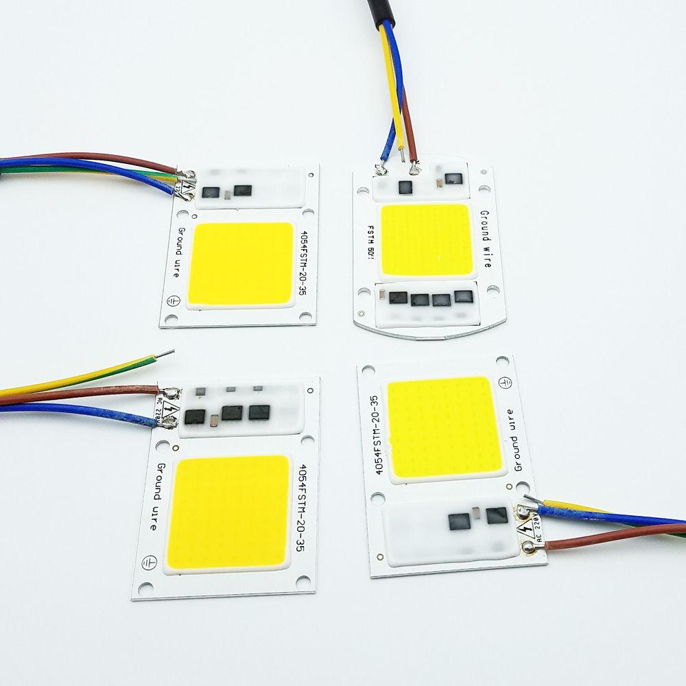 220 110v 20 30 50 100w Full Spectrum Led Cob Chip Grow Light Plant Growing Lamp