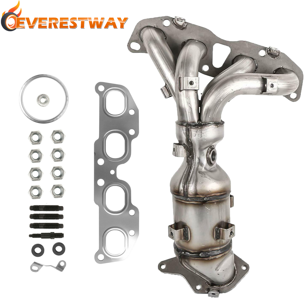 Steel Exhaust Manifold With Catalytic Converter For Nissan 2007-2013 Altima 2.5L