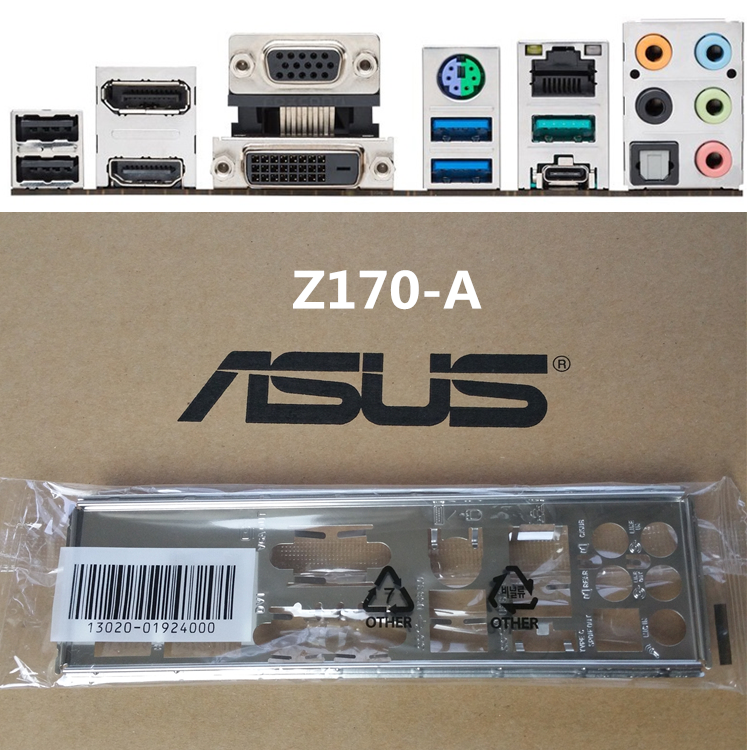1PCS IO BACK PLATE FOR  Z170-DELUXE