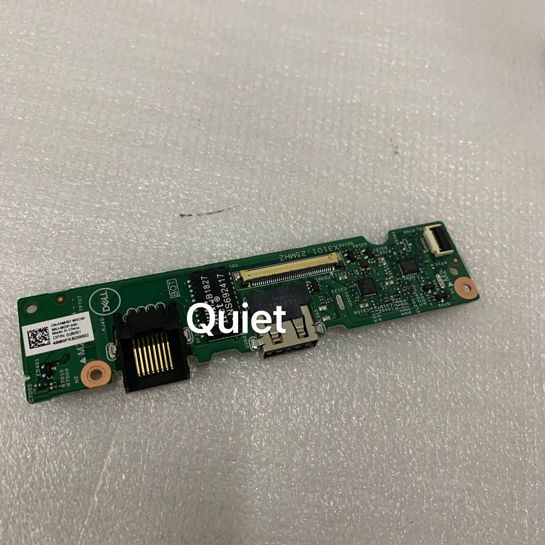 FOR DELL inspiron 15-7560 USB IO Board 0857WR BKA40 LS-D823P Cable 0K7KFV