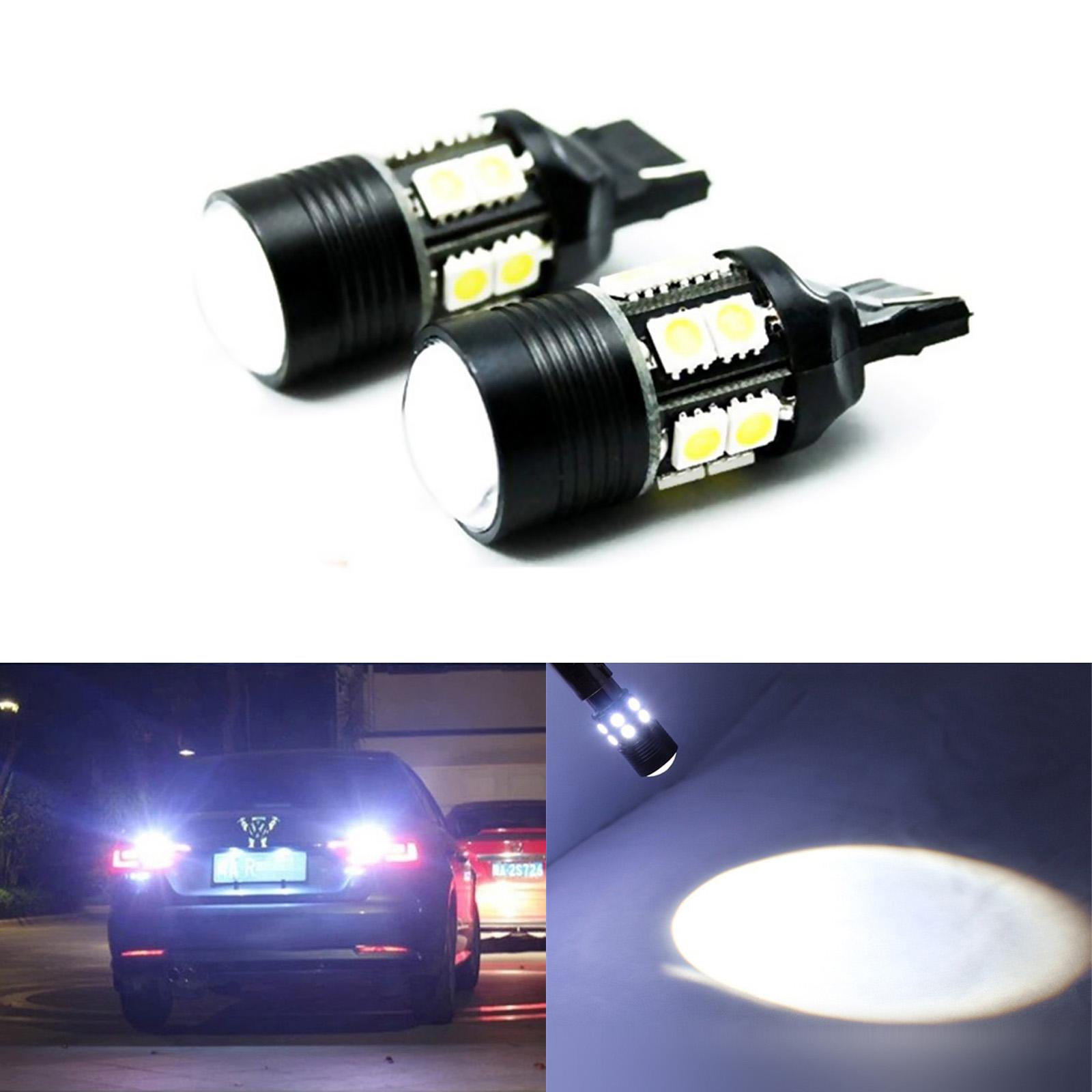 12-5050smd  high power led Bright  fog light  White 1 pair 9005 CREE 7W SMD
