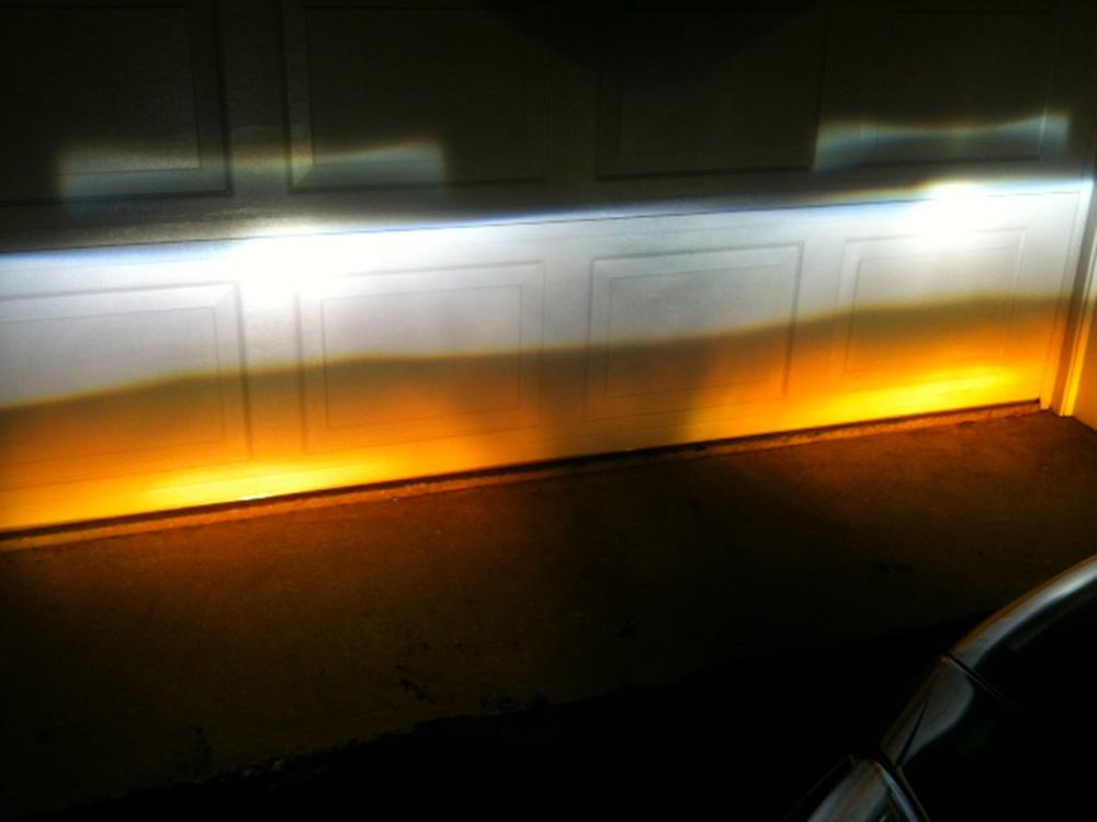 2x Warm Yellow HB4 9006 LED Fog Light Bulbs 15W SMD 5730 High Bright Daytime DRL