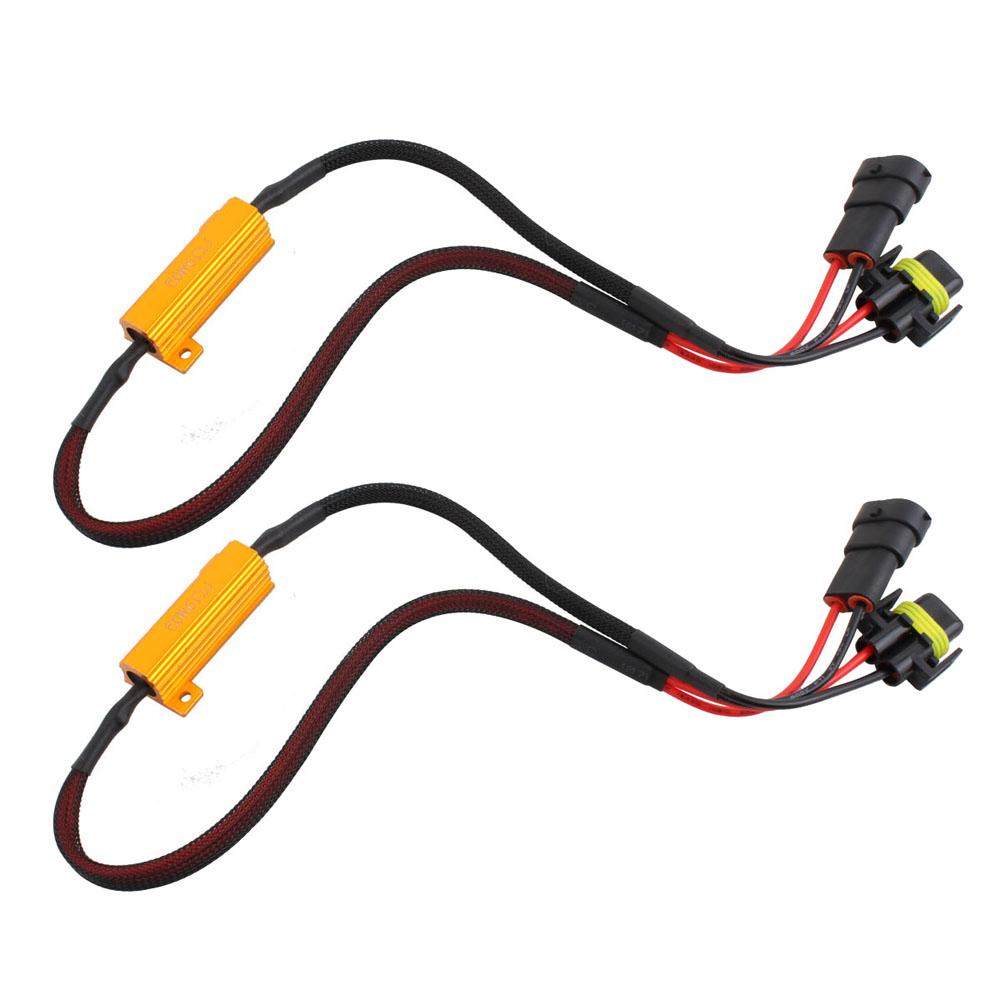 b38d0808fe327d91 h11 h8 load resistor kit hid relay harness led anti flicker error