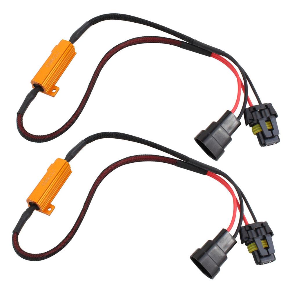 e6ca1af8b57d90b1 hb4 9006 load resistor kit hid relay harness led anti flicker error