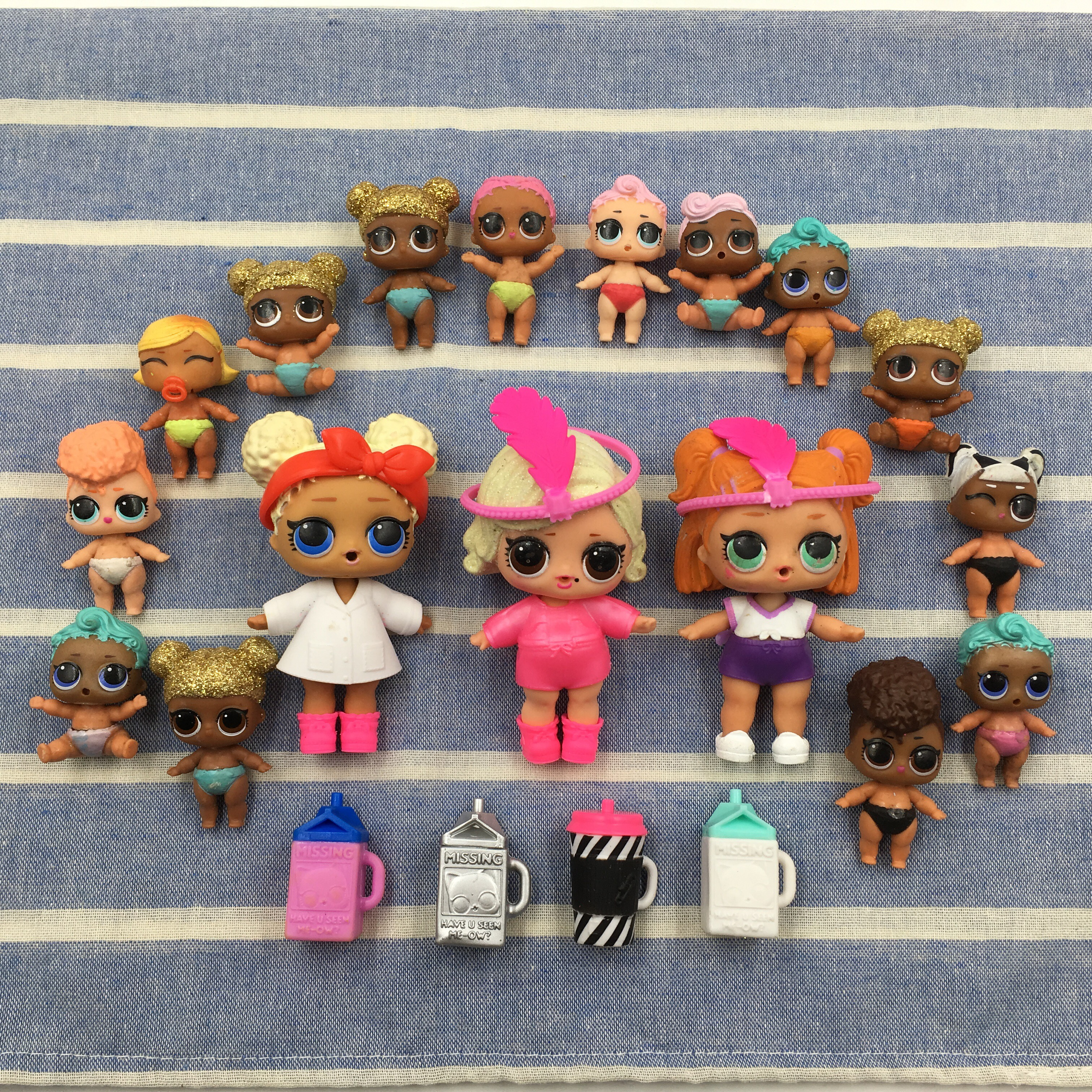 3 Set LOL Surprise Big Sisters Doll Accessories Shoes Kids Girl Gift Toy Random