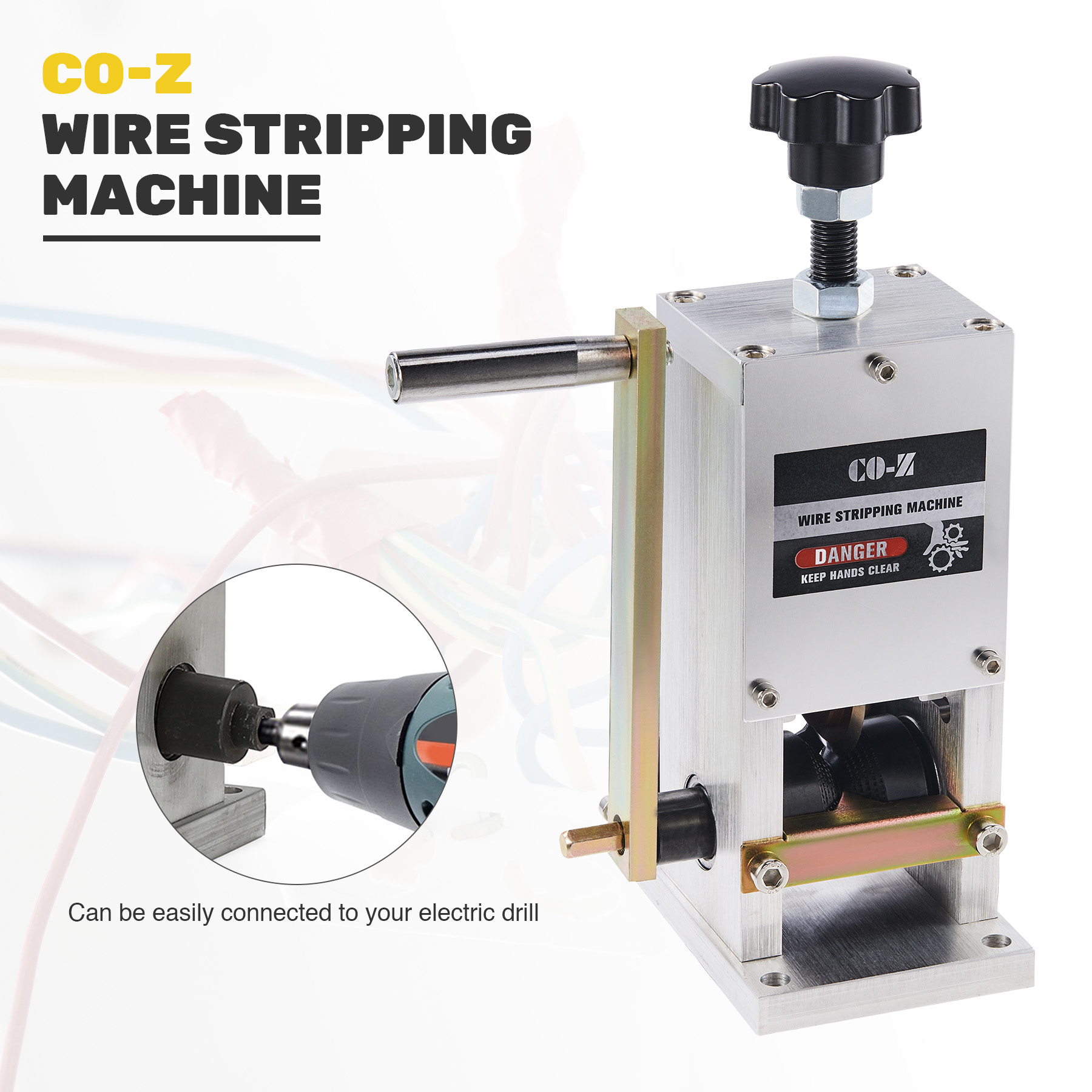 Electrical Tools VEVOR Manual Wire Stripping Machine 1.5-25 mm ...