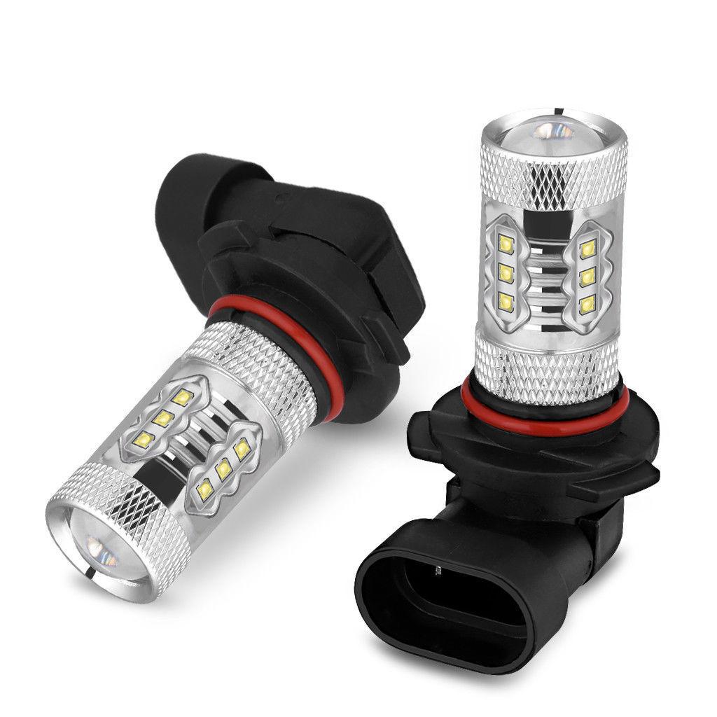 Pair LED Fog Light Bulb for Toyota Tundra 2007-13 Tacoma 2005-11 Xenon White